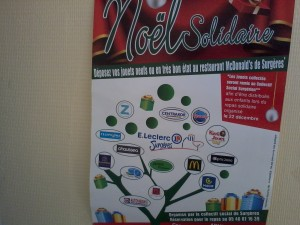 Noël solidaire à Surgères le 22 décembre (photo CC)