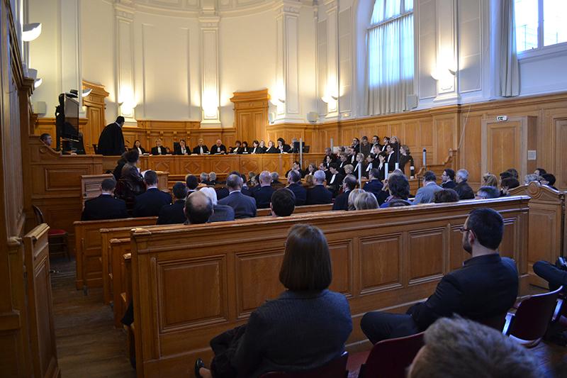 audience solennelle tribunal saintes