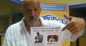 #ScèneOuverte le 19/09/14 avec le chanteur Jacky d'Aigrefeuille