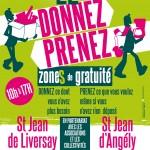 Zoom sur la Zone de gratuité le 22/11 à Saint-Jean-de-Liversay et Saint-Jean-d'Angély