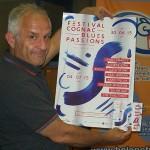 #ScèneOuverte le 26/06/15 avec Michel Rolland, le directeur du festival Cognac blues passion qui a lieu du 30 juin au 4 juillet