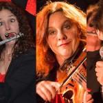#ScèneOuverte le 19/06/15 avec le trio féminin «La Quinte» de Poitiers, en concert le 28 juillet à Marennes.