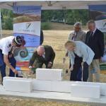 La Tremblade : la première pierre de la future gendarmerie a été posée ce matin
