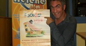 #ScèneOuverte le 28/08/15 avec Sébastien Brochoire pour la promo du festival Face & Si à Mouilleron-le-Captif (85), du 4 au 6 septembre