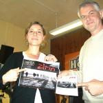 #ScèneOuverte le 15/04/16 avec la compagnie Dubotêat de Rochefort pour la promo de son nouveau spectacle Zima