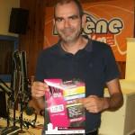 #ScèneOuverte le 23/09/16 avec Ludovic Denis pour la promo du festival Jazz entre les deux tours à La Rochelle du 1er au 9 octobre